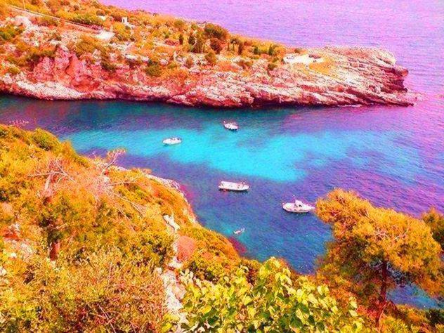 Puglia super villa sul mare in bella caletta costa otranto