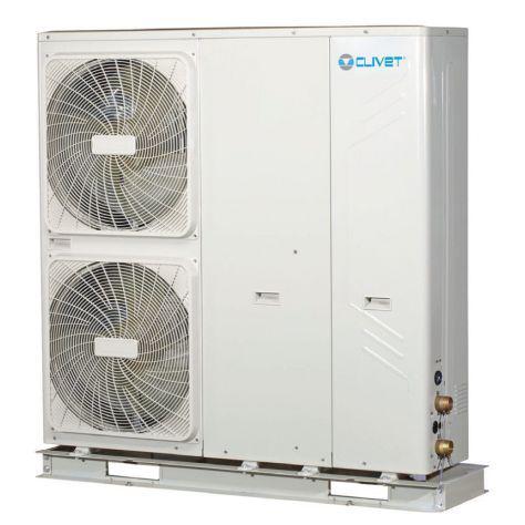 Pompa di calore ad aria/acqua clivet energy edge wsan-xmi