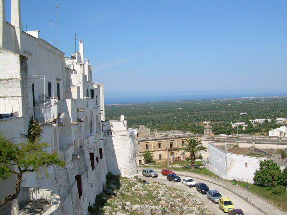 Salento ostuni borgo antico rifinito panoramico bivani