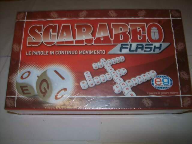 Scarabeo flash editrice giochi incellofonato