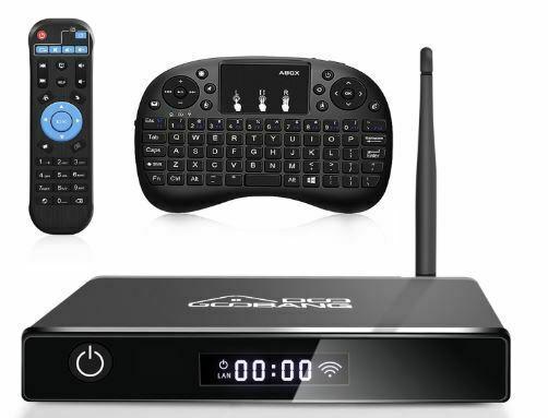 Smart tv box 4k full hd wifi/bluetooth 4.0/mini tastiera