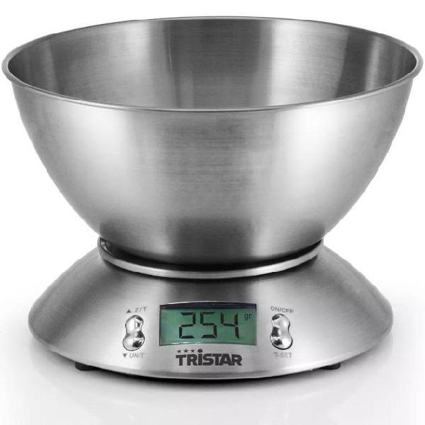 Tristar bilancia da cucina 5 kg con dosatore