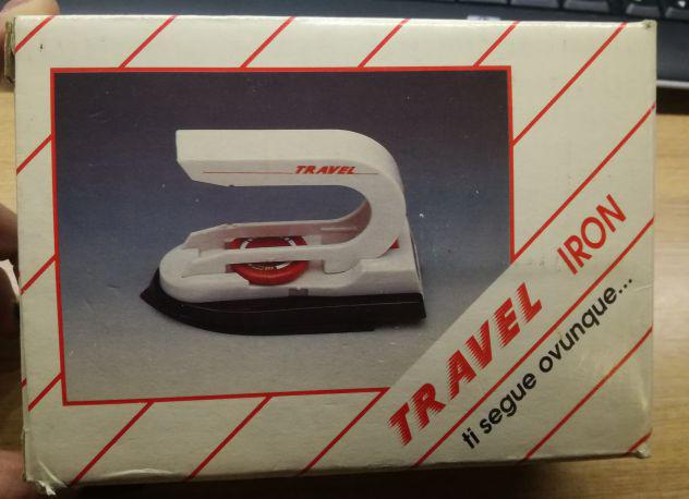 Vintage travel iron 110-220 dual volt