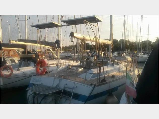 Barca a veladel pardo gran soleil 41 anno1982 lunghezza mt12