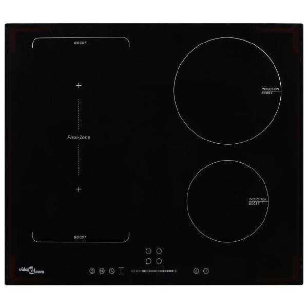 Vidaxl piastra a induzione 4 zone touch control zona