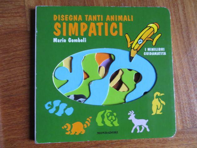 Disegna tanti animali simpatici.