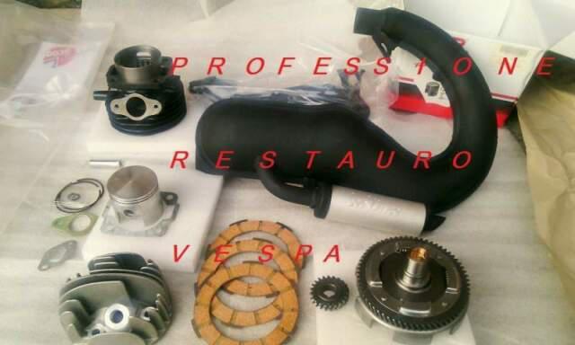 Kit modifica motore vespa 50 special pk n l r gruppo termico