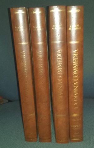 La divina commedia - 4 volumi - zenit editrice - 1981