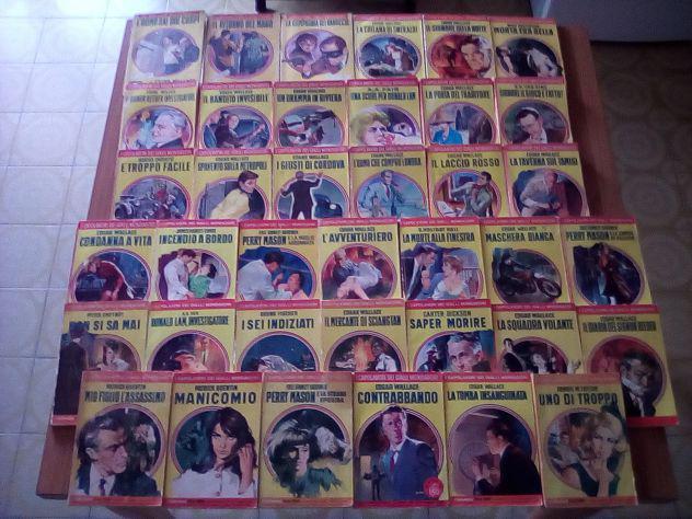 Lotto 38 capolavori dei gialli mondadori anni 50/60