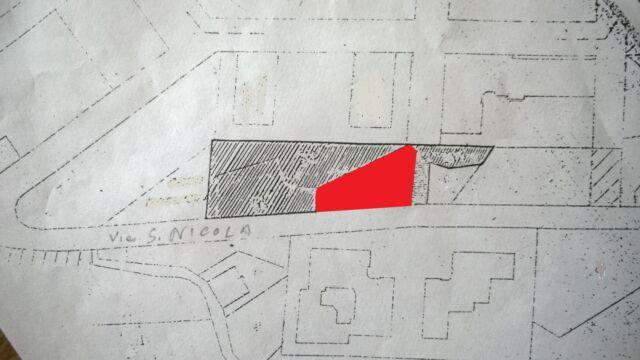 Porzione di terreno edificabile situato in comune di