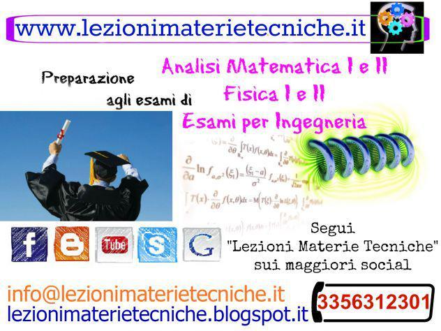 Preparazione esami universitari e per l'ingegneria