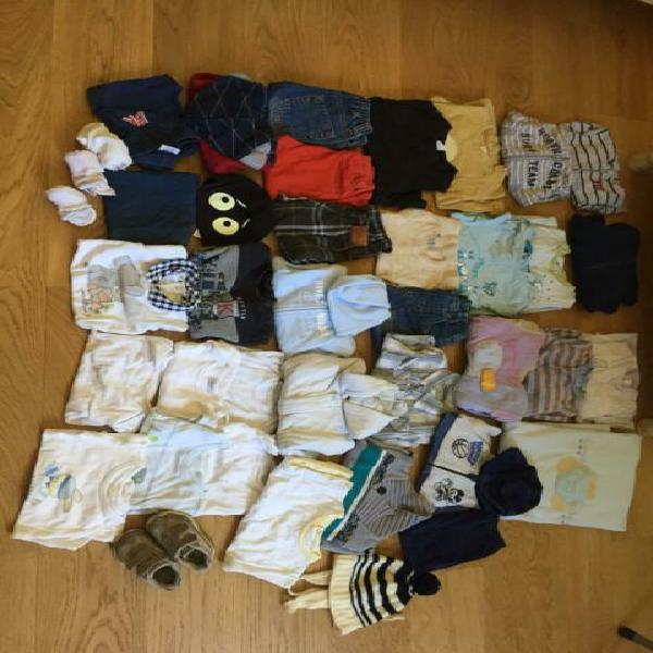 Stock abbigliamento neonato 9 mesi bimbo 40pz pantaloni