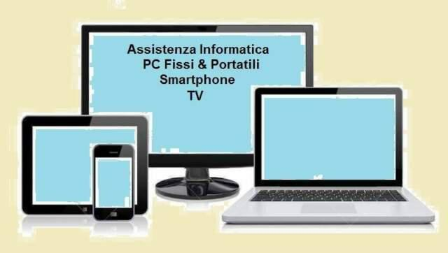 Assistenza pc, smartphone, tv