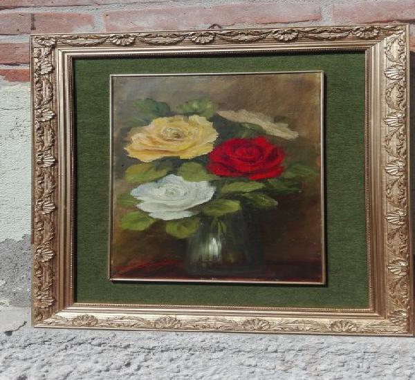 Dipinto olio su tavoletta