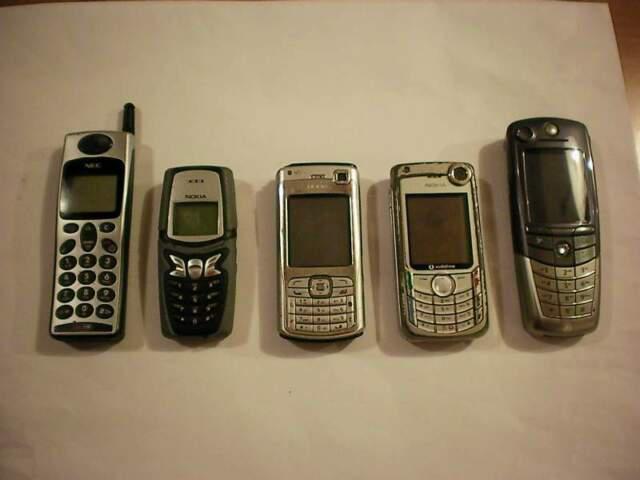 Lotto stock 5 cellulari vecchia generazione vari modelli