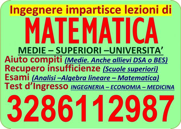 Matematica: recuperi - preparazione prova scientifico - test