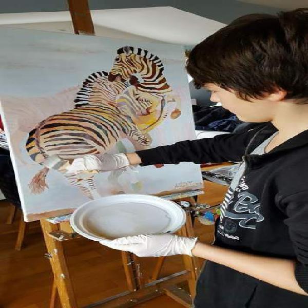 Miglior corso di disegno pittura (anche week end)