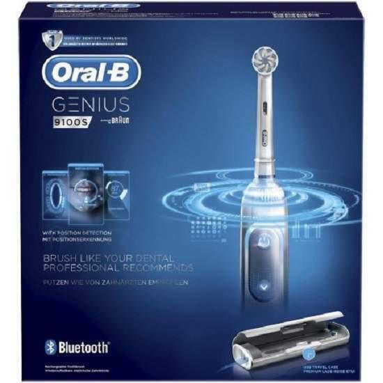 Oral b genius 9100 s spazzolino elettrico nuovo black