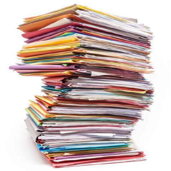 Smaltimento distruzione documenti