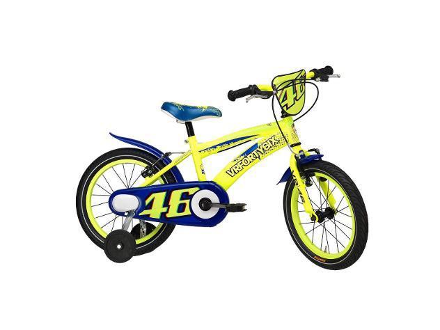 Bicicletta per bambino 16â? cicli adriatica vr46 bike