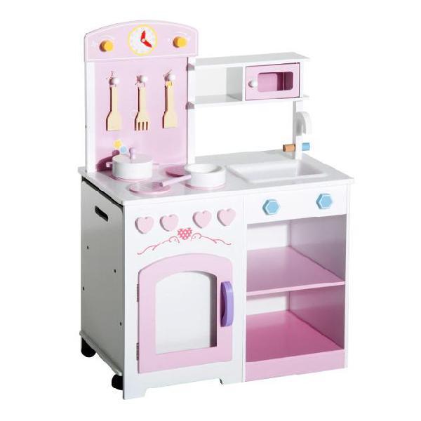 HOMCOM Tavolo Attrezzi Banco Lavoro Giocattolo con Accessori Bambini 50×26×75cm