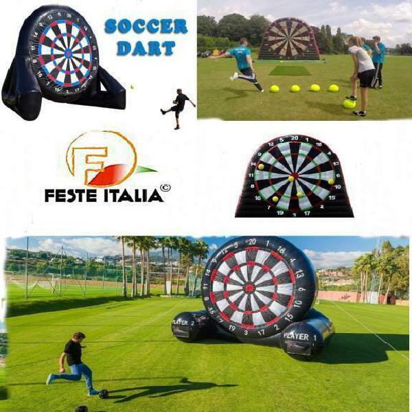 Foot darts soccer darts biella