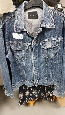 Giubbotto donna jeans sisley