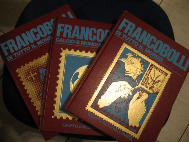 Libri, francobolli di tutto il mondo