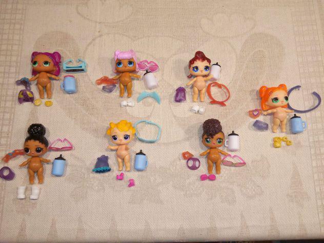 Set lotto giochi bambole lol bambine
