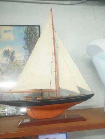 Barca vela grande legno