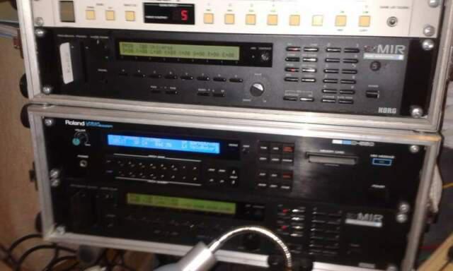 Espander korg m1rex + roland jv1080 + opzional