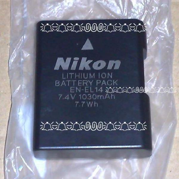 Nikon en-el14 batteria nuova originale