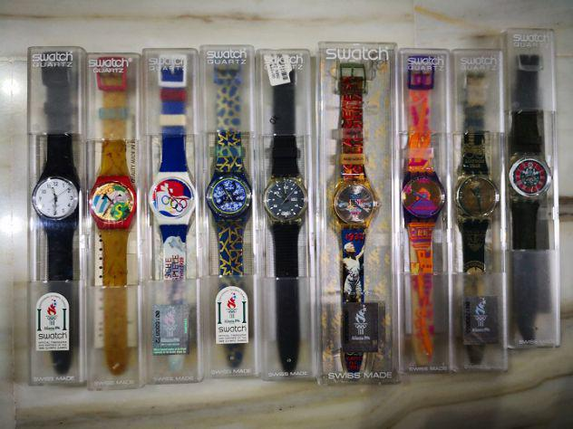 Orologi swatch. nuovi e originali