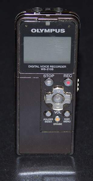 Registratore digitale portatile olympus ws210