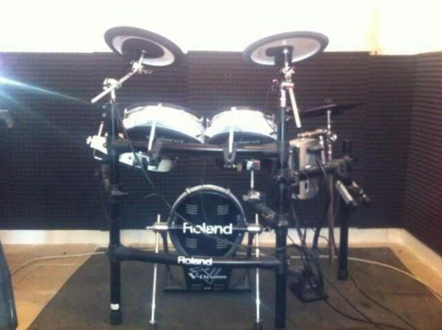 Roland v drums + modulo percussivo roland td-9
