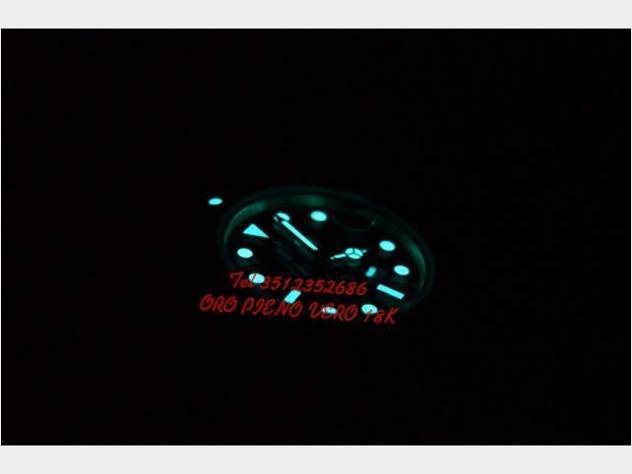 Rolex submariner oro 18k parti originali