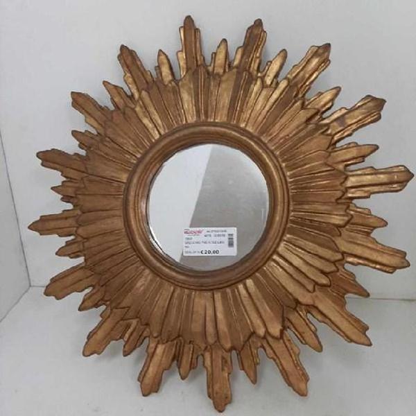 Specchio tnd sole legno
