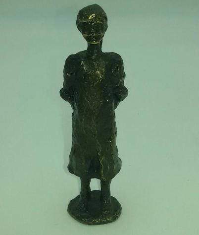 Statuina bronzo bimba