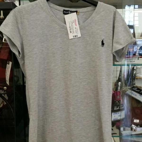 T shirt donna uf grigia m/c