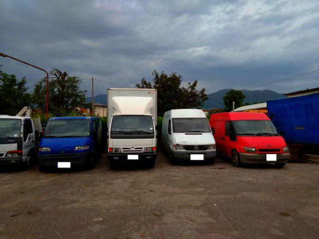 Autocarri furgoni vari fiat ducato doblo' tata 4x4 pickup