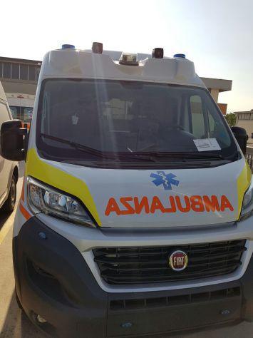Ambulanza fiat ducato 4wd nuova + dae