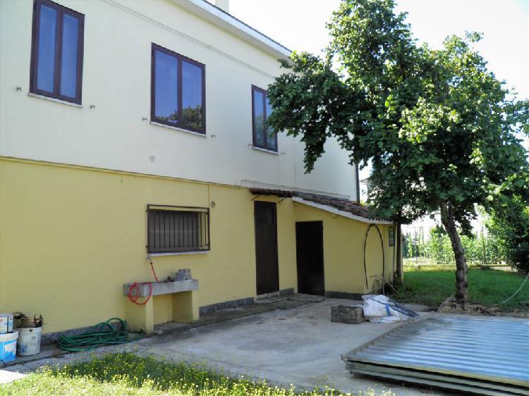 Appartamento con giardino a cotignola