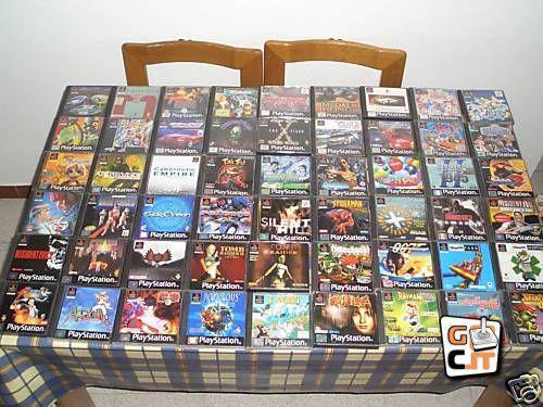 Cerco vecchi giochi playstation 1 ps1