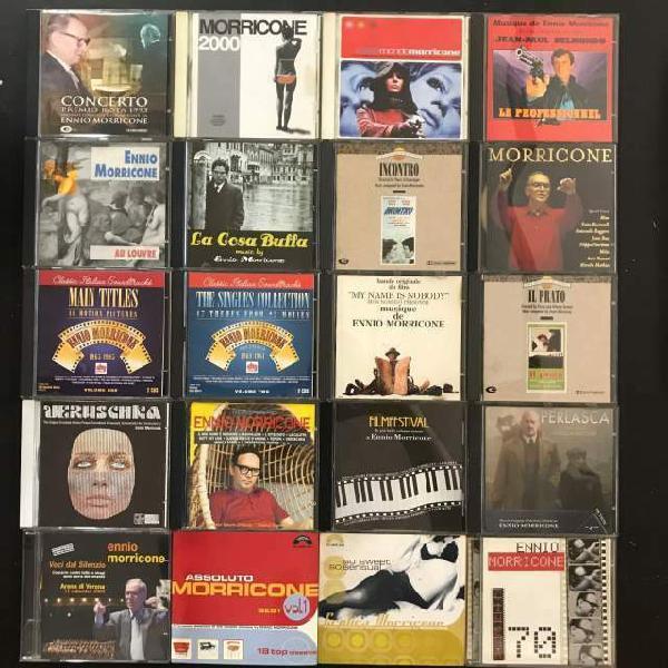Collezione 20 cd ennio morricone