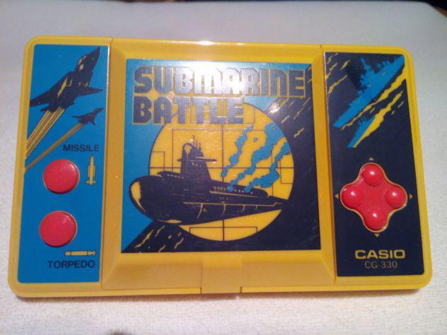 Gioco elettronico vintage casio - submarine battle