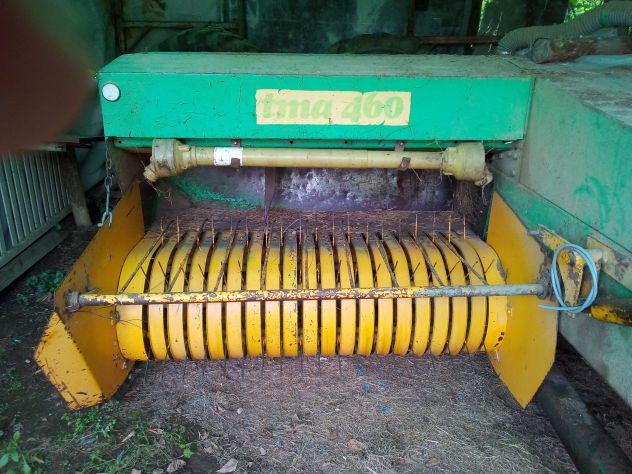 Imballatrice fieno annunci dicembre clasf for Attrezzatura agricola usata lazio