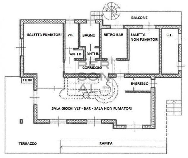 Immobile di 250 m² con 1 locale in vendita a calceranica al