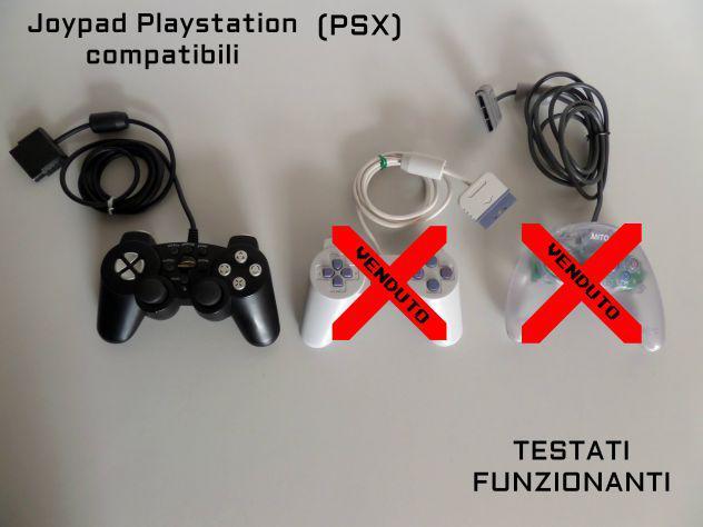 Joypad playstation psx funzionanti, compatibili
