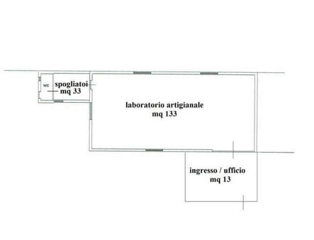 Locale uso laboratorio con uffici e servizi