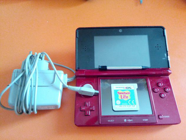 Nintendo 3ds rosso